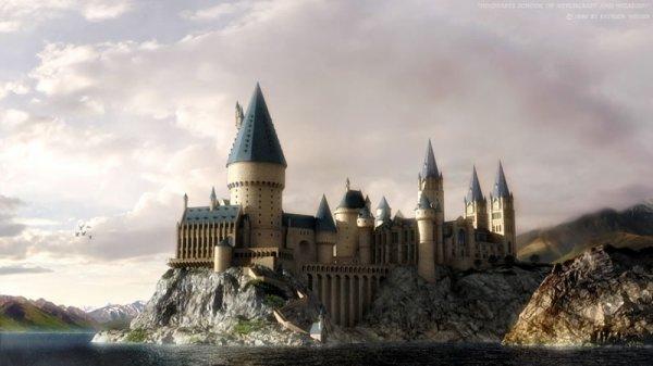 Le chateau de Poudlard