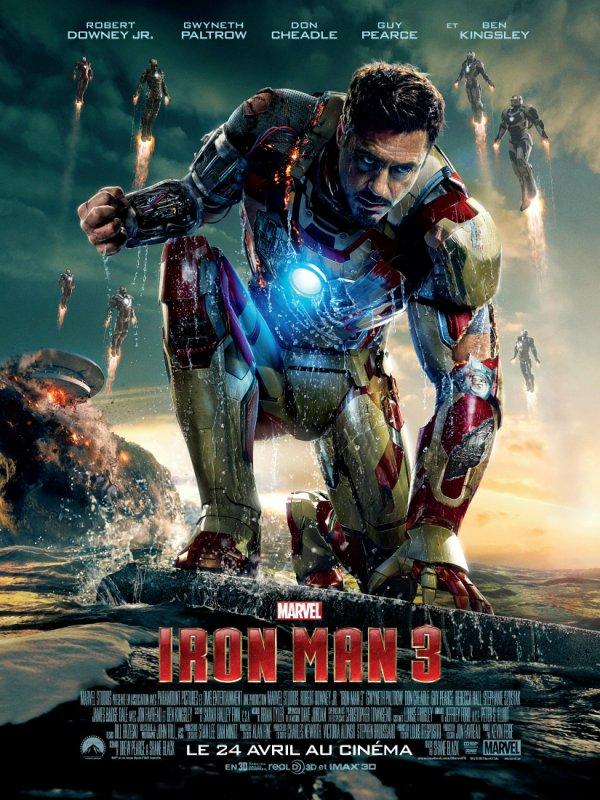 Iron Man 1, 2 & 3