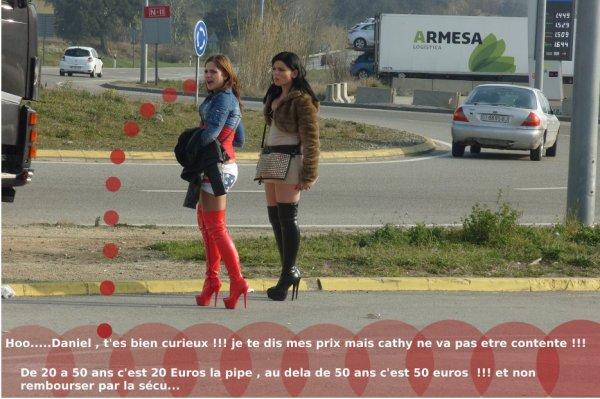 sympas mon ami Franck de Perpignan ,mais comment il sait les tarifs ??  mdrrrrrrrr..........   Photo piqué à Franck