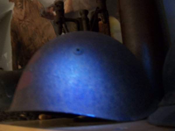 coque de casque italien model 33 (prix d'achat 22¤ ebay )