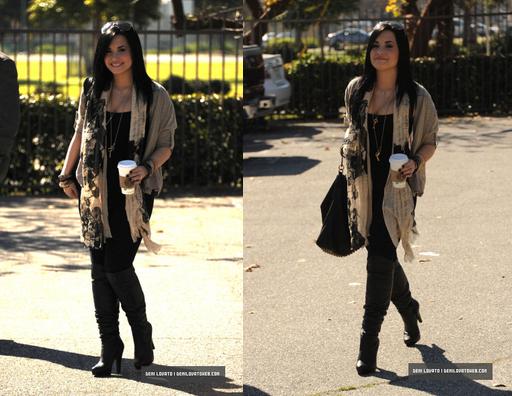 Le 28 Janvier 2011, Demi est sortis au Out in Santa Monica en California !! Premiere sorti de l'année :) Et comme vous pouvez le voir, Demi est sorti de Rehab !!