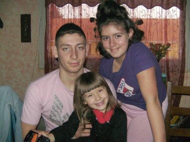 nos trois enfants donovan bélynda et chrystal