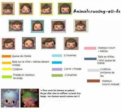 Coiffures fille blog de animalcrossing wii ds - Coupe animal crossing wii ...