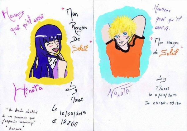 Hinata et Naruto