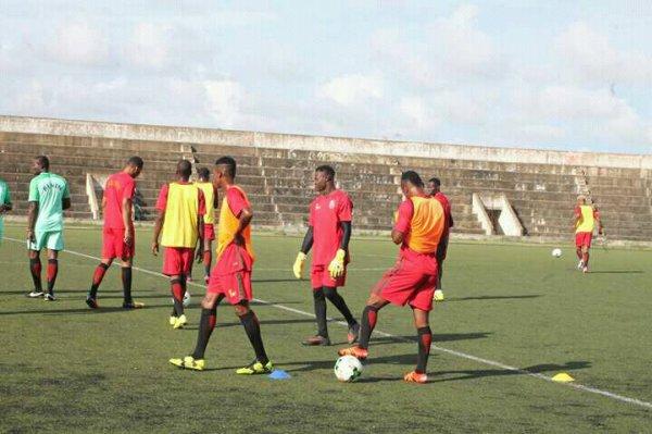 Préparatifs du match Bénin -Gambie: les 2e et 3e séances d'entraînement ont étés effectué ce jour