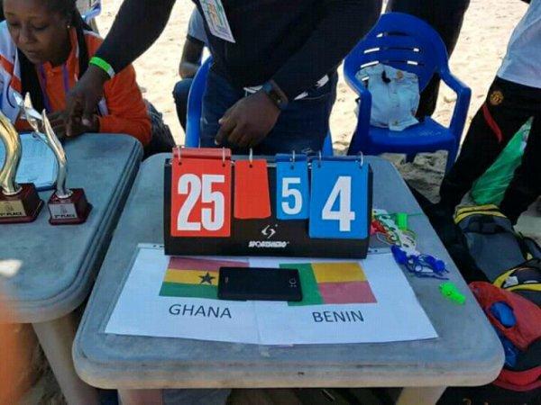 Coupe d'Afrique des Nations de beach Tchoukball: le Bénin crée l'exploit