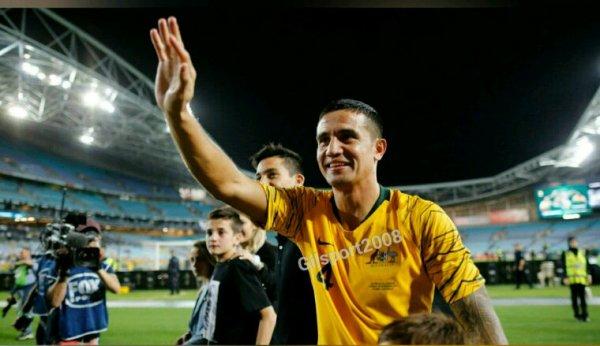 Australie : Tim Cahill fait ses adieux aux Socceroos