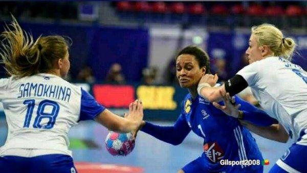 Handball Féminin : Euro 2018 : La France s'incline face à la Russie