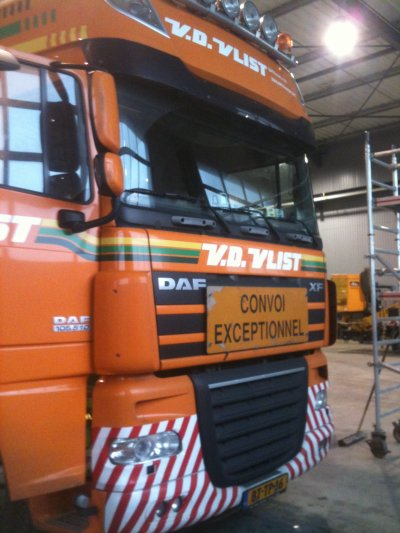 daf XF 105.510 SSC convoi exceptionnel