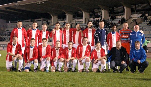 Equipe première avant le match du 30 octobre contre Sart-Bernard (perdu 1-3)