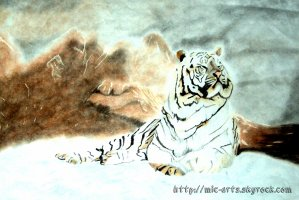 La montagne du tigre blanc