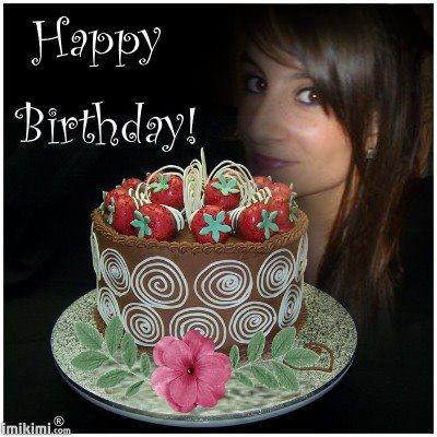 le 10 avril c etait l anniversaire d'Alicia