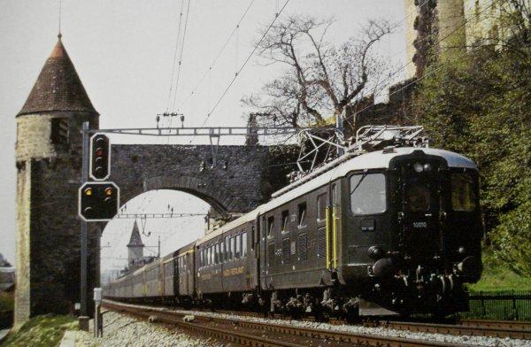 La judicieuse utilisation des wagons-restaurants suisses CFF en HO de MAERKLIN (première partie)