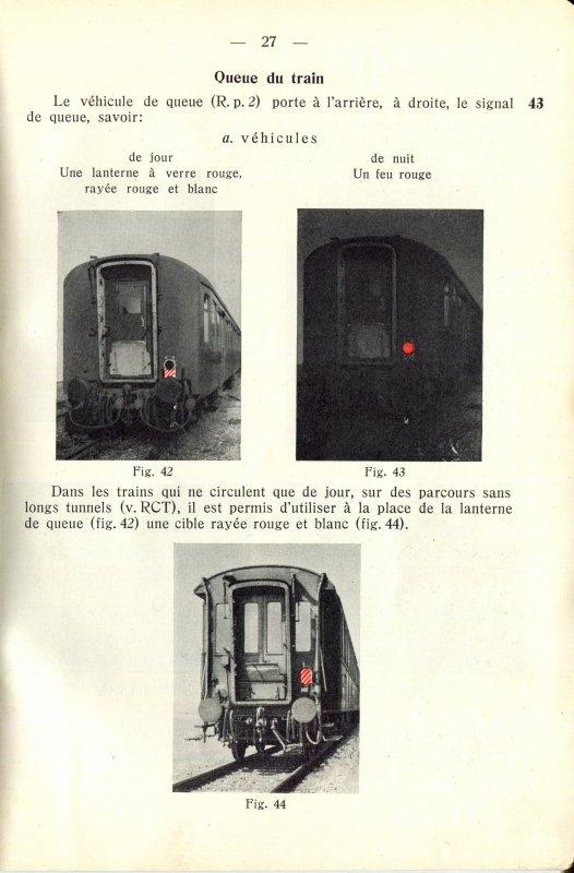 """Signalisation ferroviaire suisse authentique – Appplication du """"Feu de fin de convoi"""" de MAERKLIN (No de catalogue 484/33, puis 7079)"""