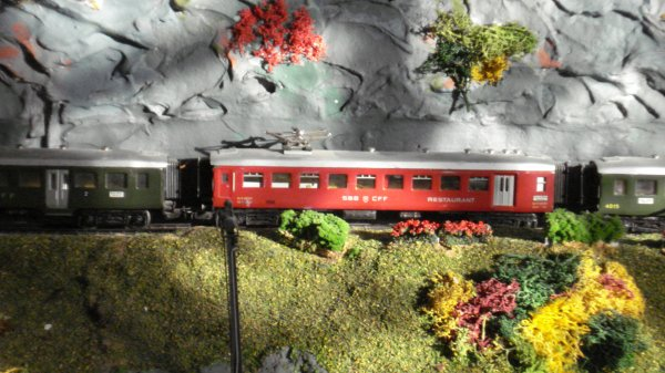 Les sublissimes trains de voyageurs helvético-européens du temps jadis (deuxième partie)