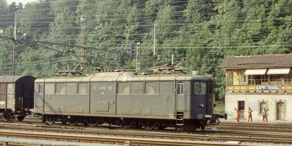 Ma locomotive BUCO 314 - Souvenirs de l'authentique Ligne du Saint-Gothard (première partie) !