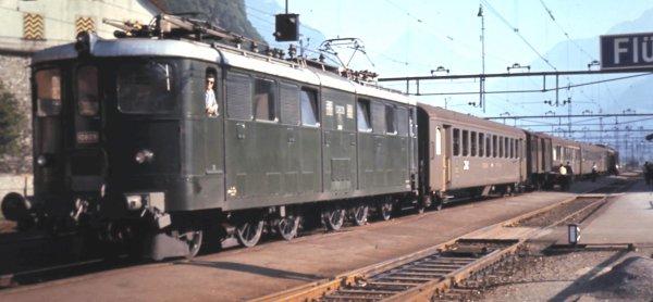 Locomotives Ae 4/6 dans leur vie quotidienne (deuxième partie)