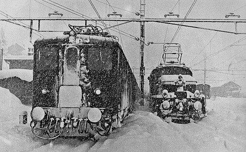 Locomotives Ae 4/6 dans leur vie quotidienne (troisième partie)