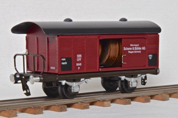 Renaissance du Tin-Plate de style suisse à l'échelle 0 - Quelques nouveaux wagons de BUCO à Bauma - Quatrième partie