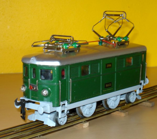 Amélioration esthétique de ma locomotive 314 :