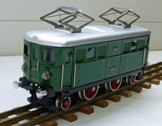 Description technique des locomotives BUCO 304 et 304 L