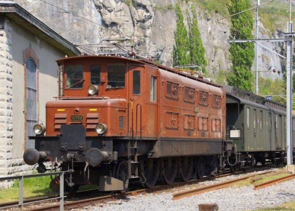 "La ""Saga"" de la locomotive Ae 3/6 I 10700 des CFF"