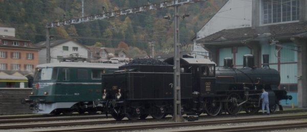 Un événement ferroviairo-helvético-historique hors du commun (première partie) !