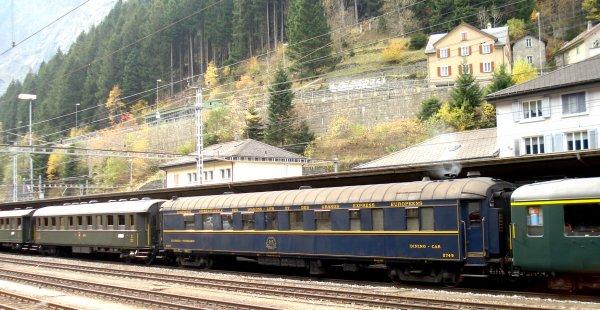 """Ambiances """"vapeur"""" et d'authentique voyage en train en gare de Goeschenen (deuxième partie)"""