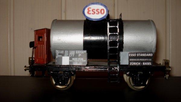 Ultimes améliorations apportées sur mes wagons-citernes ESSO et SHELL