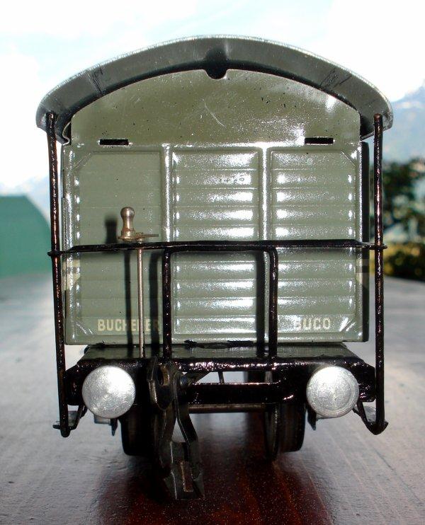 """Acquisition et amélioration de nouveaux wagons de marchandises BUCO """"Tin-Plate"""" 0 à deux essieux (première partie)"""