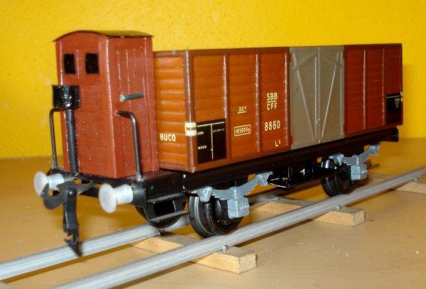 """Quelques nouveaux wagons """"Tin-Plate"""" (HAG et BUCO)"""