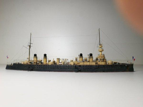 Croiseur cuirassé Gloire 1/600 scratch