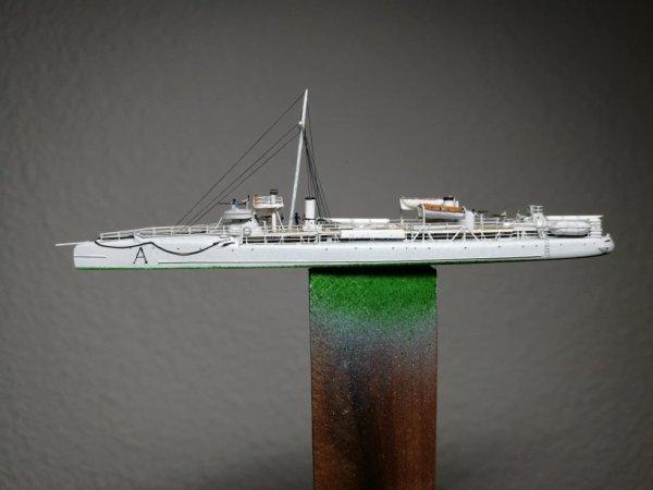 Contre torpilleur Arquebuse 1/600 scratch