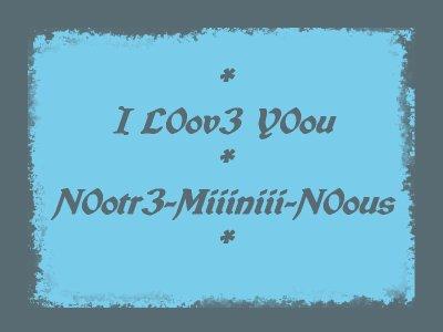 Je t'aime Déjà Tant ...