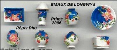 LES EMAUX DE LONGWY DISTRIBUES PAR LES PÂTISSIERS DE LORRAINE