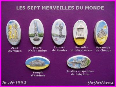 MOULIN A HUILE  1993   CHRISTOPHE COLOMB   7 MERVEILLES DU MONDE  LES CHÂTEAUX DE LA LOIRE  LES COIFFES BRETONNES ...