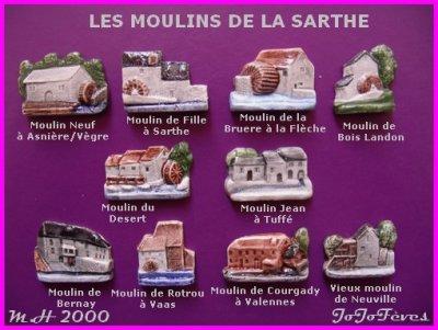 MOULIN A HUILE  2000  LA LAVANDE  LES MOULINS DE LA SARTHE