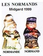 MIDGARD 1999  COUPLE DE PETITS NORMANDS
