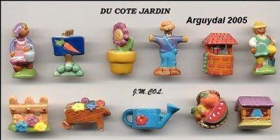 LE JARDIN  LES ARROSOIRS