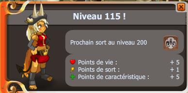 Nouveau record personnel et up osa 115 !!!