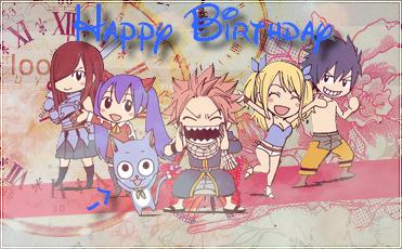 Happy Birthday nous !!!! 8D