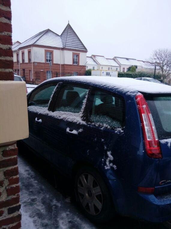Il neige par chez nous