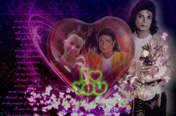 Moi et Michael $)