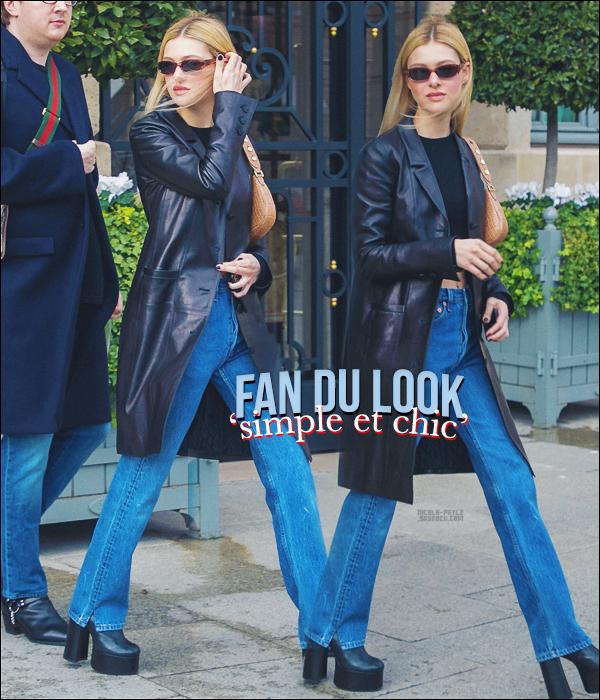 25/02/20 - La magnifique Nicola Peltz a été aperçue sortant de son hôtel Parisien, FRANCE.