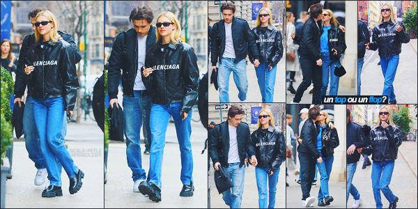 13/03/20 - Nicola Peltz et son boyfriend ont été aperçus se promenant dans les rues de NYC.