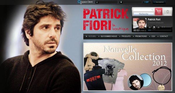 """Patrick Fiori """"La boutique"""""""