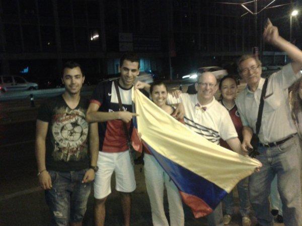 moi avc les seporteur de colombia :)