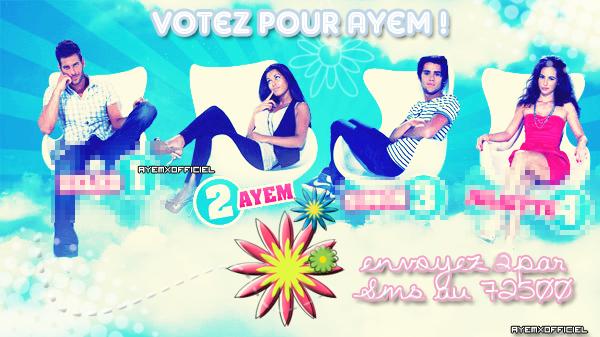 ◢ Ayem nominée face à Zelko, Simon & Juliette ◣