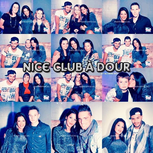 ◢ Ayem en sortie au Nice Club le 07 octobre 2011 ◣