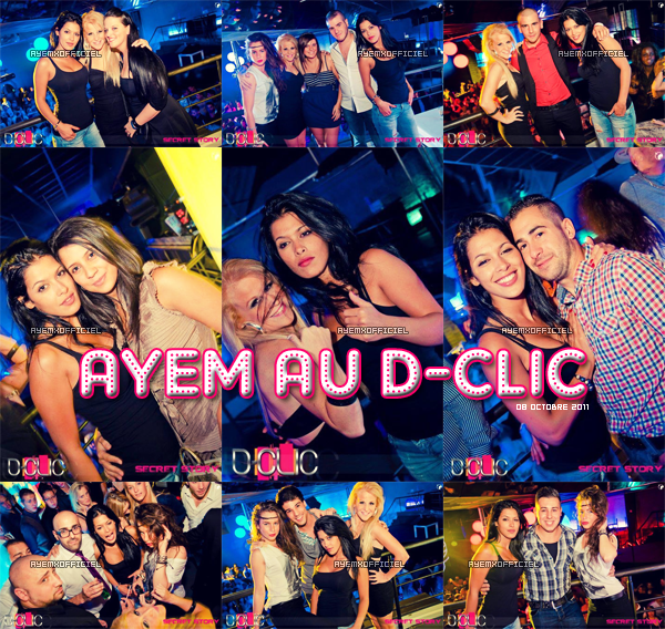 ◢ Ayem en sortie au D-Clic le 08 octobre 2011 ◣
